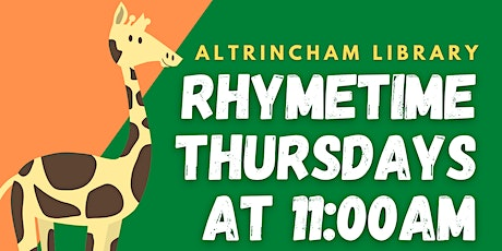 Rhymetime at Altrincham Library tickets