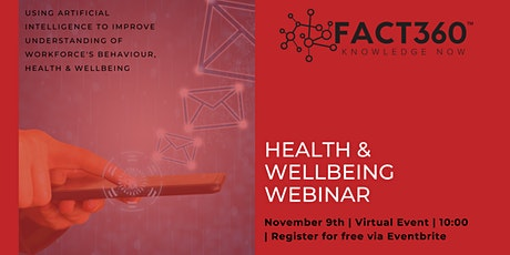 Health & Wellbeing In The Workplace tickets