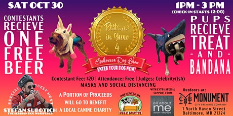 BEST(ISH) IN SHOW #4 - Dog Halloween Spectacular at Monument City Brewing tickets