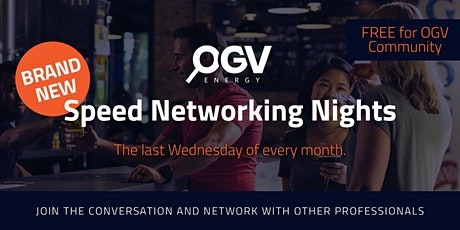 OGV Speed Networking tickets