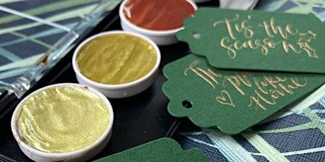 Shoreditch - Christmas Sparkle Nib Workshop tickets