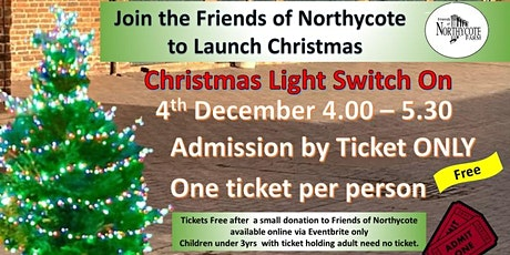Christmas Light Switch On tickets