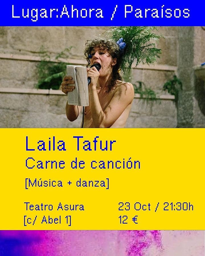 Imagen de Lugar:Ahora / Edición Paraísos / Sesión 2: Laila Tafur