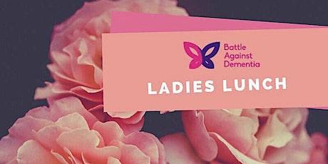 Battle Against Dementia Ladies Lunch tickets