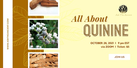 ALL ABOUT QUININE tickets
