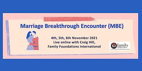 Marriage Breakthrough Encounter tickets
