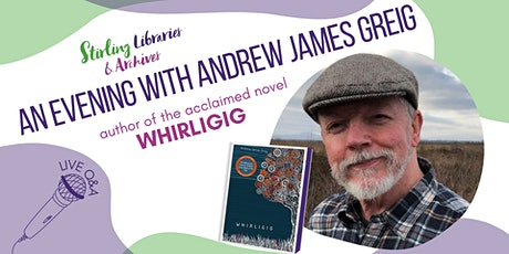 An Evening with Andrew James Greig tickets