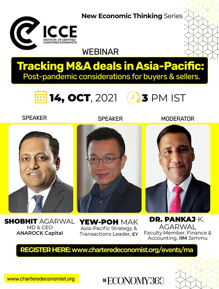 ICCE Webinar: Tracking M&A Deals in Asia-Pacific image