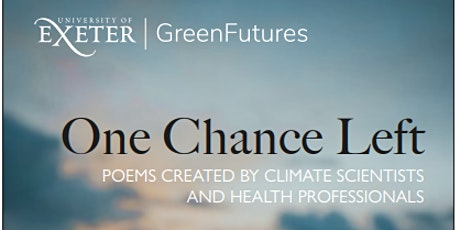 One Chance Left - Screening Launch Event - Poems for COP26 tickets