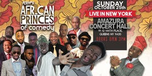 African Princes Of Comedy Tour - New York