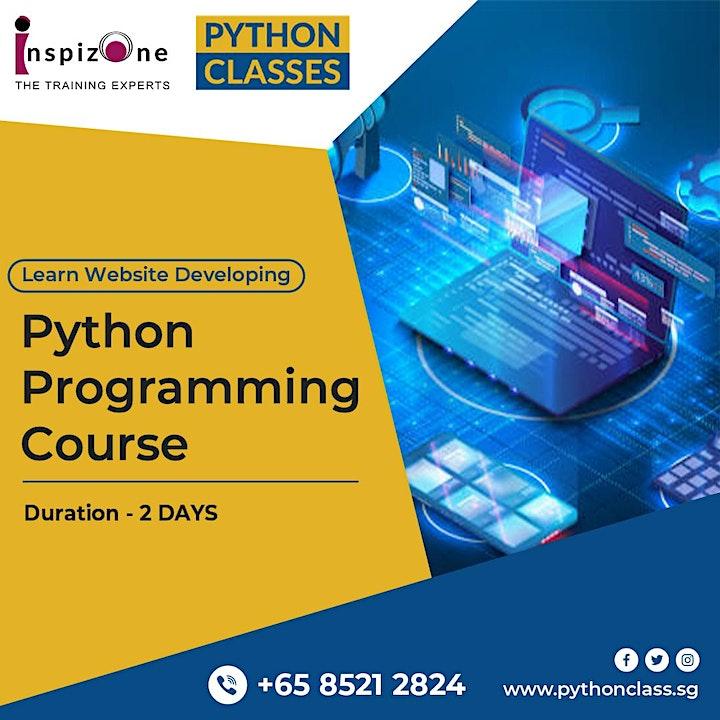 Best Python Online Course Singapore - Python Classes image