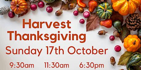 Harvest Thanksgiving - 17th October 2021 @  6:30pm tickets