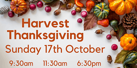 Harvest Thanksgiving - 17th October 2021 @ 11:30am tickets