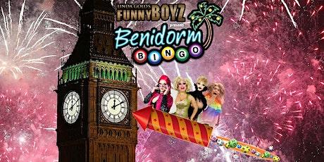 FunnyBoyz London presents NEW YEARS' EVE BENIDORM BINGO tickets