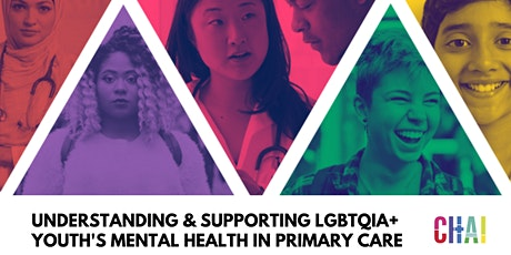 Understanding and Supporting LGBTQIA+ Youth's Mental Health in Primary Care tickets