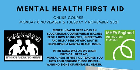 Mental Health First Aid - Adult - Online Course tickets
