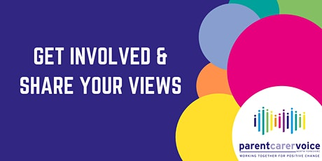 Get Involved & Share your views tickets