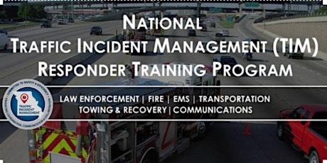 Traffic Incident Management - Versailles, MO - Responder Training tickets