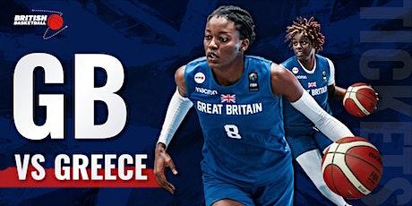FIBA Women's Eurobasket 2023 Qualifier GB v Greece tickets