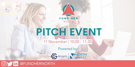 Fund Her North Pitch Event with NorthInvest & GC Angels tickets