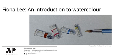 Fiona Lee: An introduction to watercolour - afternoon session tickets