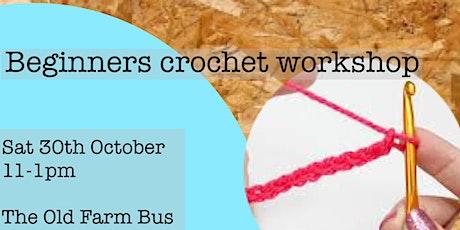 Beginners crochet workshop tickets