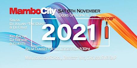 Mambo City Monthly Saturdays  November tickets