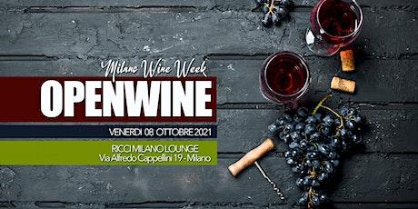 New Exclusive RICCI MILANO - OPENWINE Repubblica biglietti