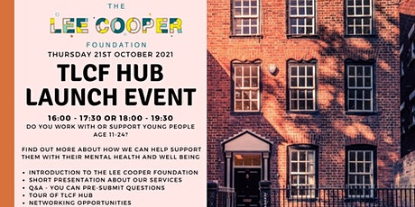 The Lee Cooper Foundation Hub Launch tickets