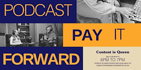 Pay it Forward- Podcasting Edition tickets