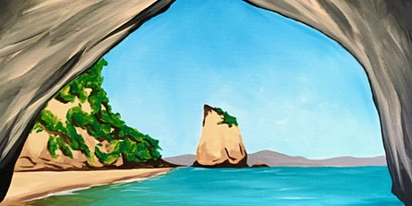 Paint and Sip - Cathedral Cove tickets