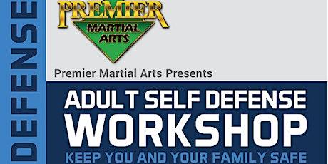Free Teen/Adult Self-Defense Workshop tickets