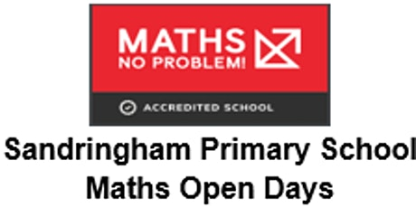 Maths Mastery Open Day at Sandringham Primary School tickets