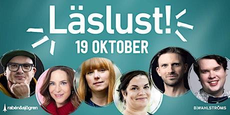 Läslust Stockholm 19 oktober tickets