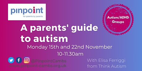 A parents' guide to autism — session 1 tickets