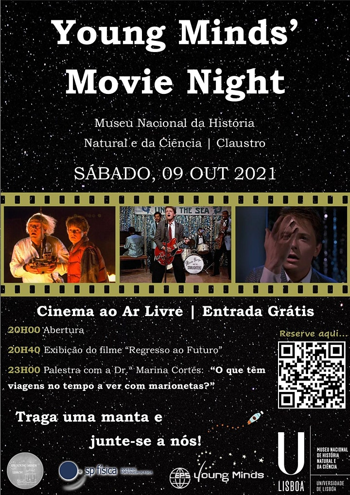 imagem Young Minds' Movie Night - 'Back to the Future I'