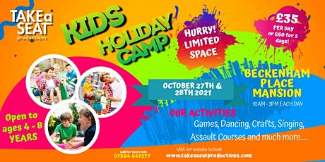 Kids Holiday Camp tickets