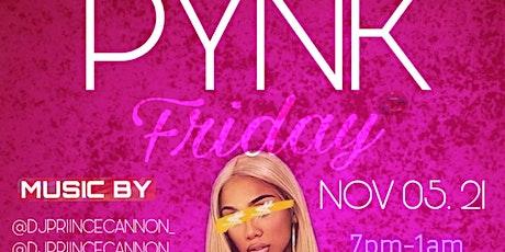 Pynk Saturday tickets