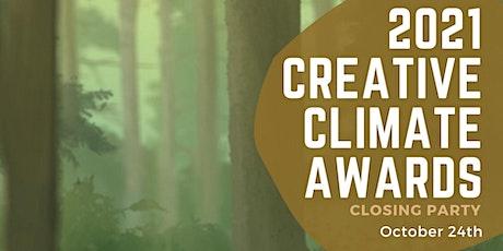 Creative Climate Awards 2021 Audience Choice Awards & Celebration tickets
