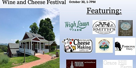 First Annual Wine and Cheese Fest tickets