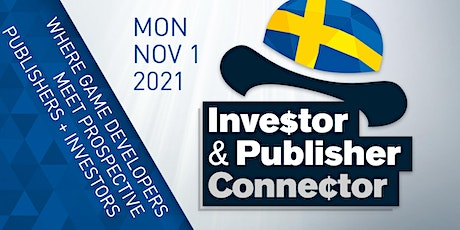 Investor & Publisher Connector tickets