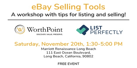 Long Beach eBay Selling Workshop tickets
