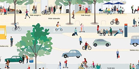 Re-Imagining our City Streets for Health and Sustainability. tickets