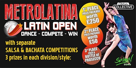 Latin Dance Competition tickets