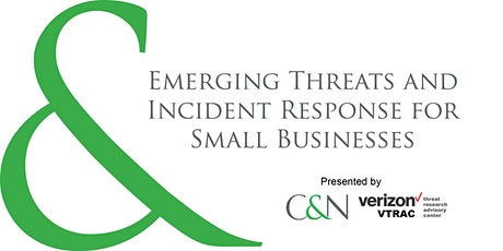 Emerging Threats and Incident Response for Small Businesses tickets