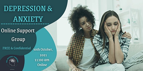 Depression and Anxiety Online Support Group tickets