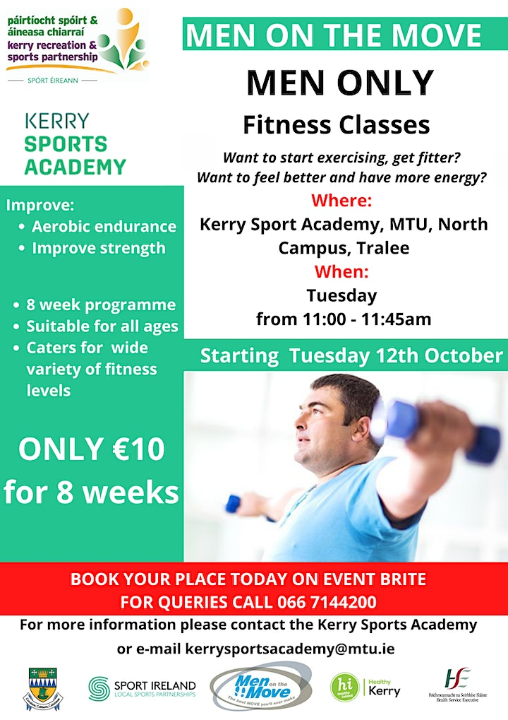 Men On The Move - Kerry Sports Academy image