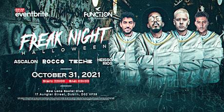 FREAK NIGHT | DUBLIN Halloween 2021 tickets