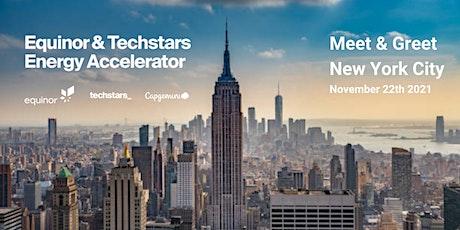 Equinor & Techstars Energy Accelerator Meet & Greet, New York City tickets