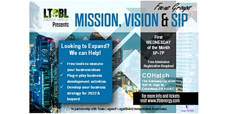 Mission, Vision & Sip Focus Groups tickets